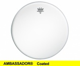 "Remo 22"" Ambassador Coated - 10517"