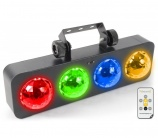 BeamZ Dj Bank BX LED con mando - 11658