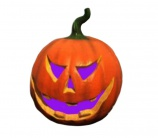Calabaza Halloween LED multicolor - 13881