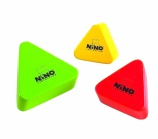 Nino 508MC Wood Shakers Triangular - 14395