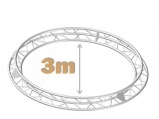 Truss circular triangular 3m - 285