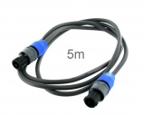 Cable altavoz 2x1.5 Speakon 5m Neutrik - 3171