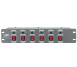 "Showtec DJ-Switch 6 19"" - 4077"
