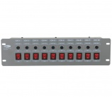 "Showtec Dj-Switch 10 19"" - 4473"