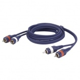 Cable audio 2 RCA macho a 2 RCA macho L/R - 7183