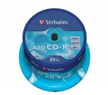 Verbatim AZO CD-R Pack 25 - 7229