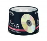 CD TDK 52x Pack 50 - 7230
