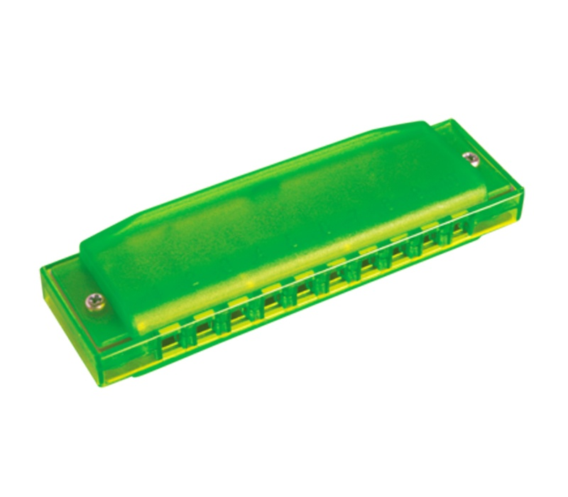 Hohner armónica Happy Color Harp verde - 8501