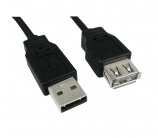 Cable Usb 2.0 A macho a hembra 1.8m - 8629